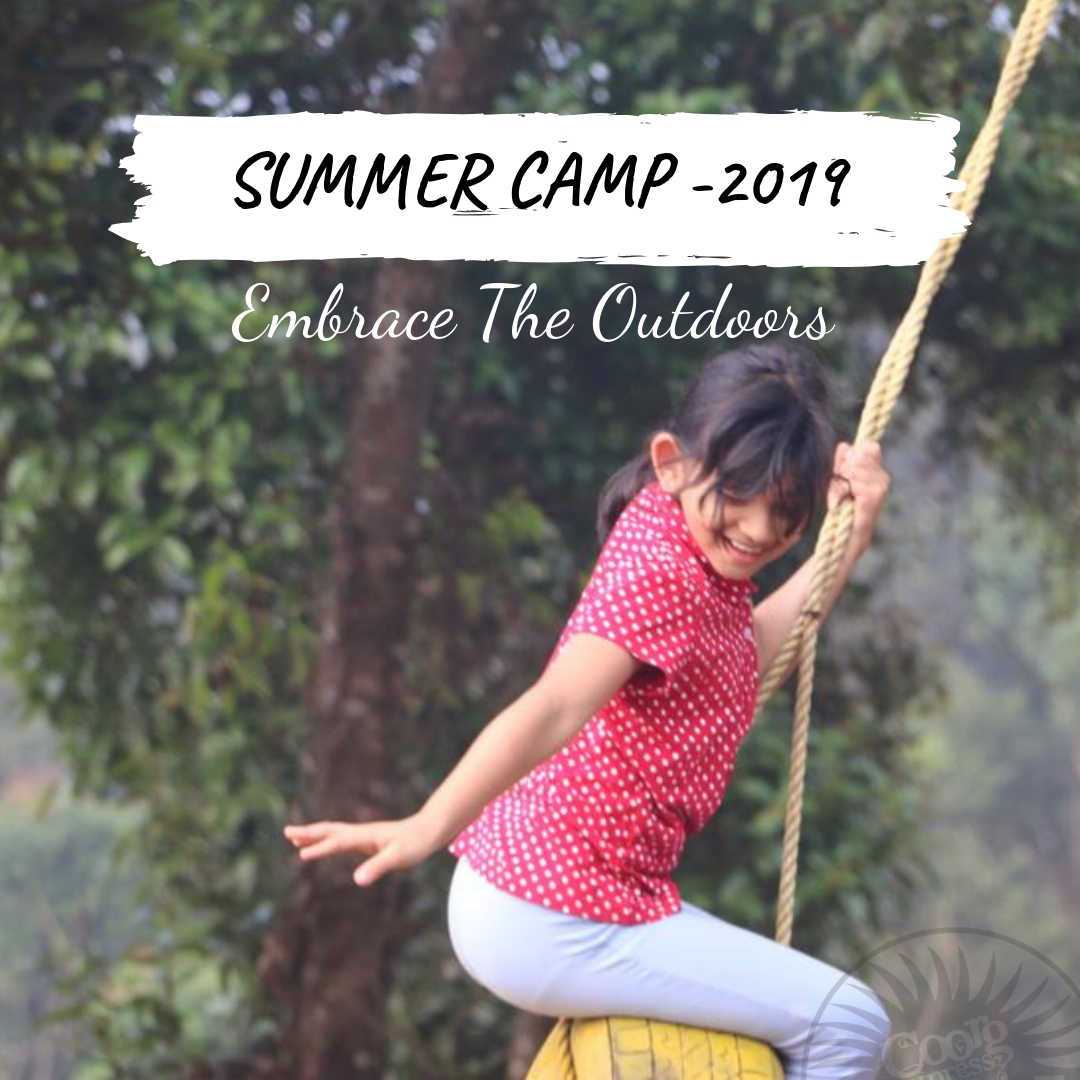 EMBRACE THE OUTDOORS - SUMMER CAMP 2019
